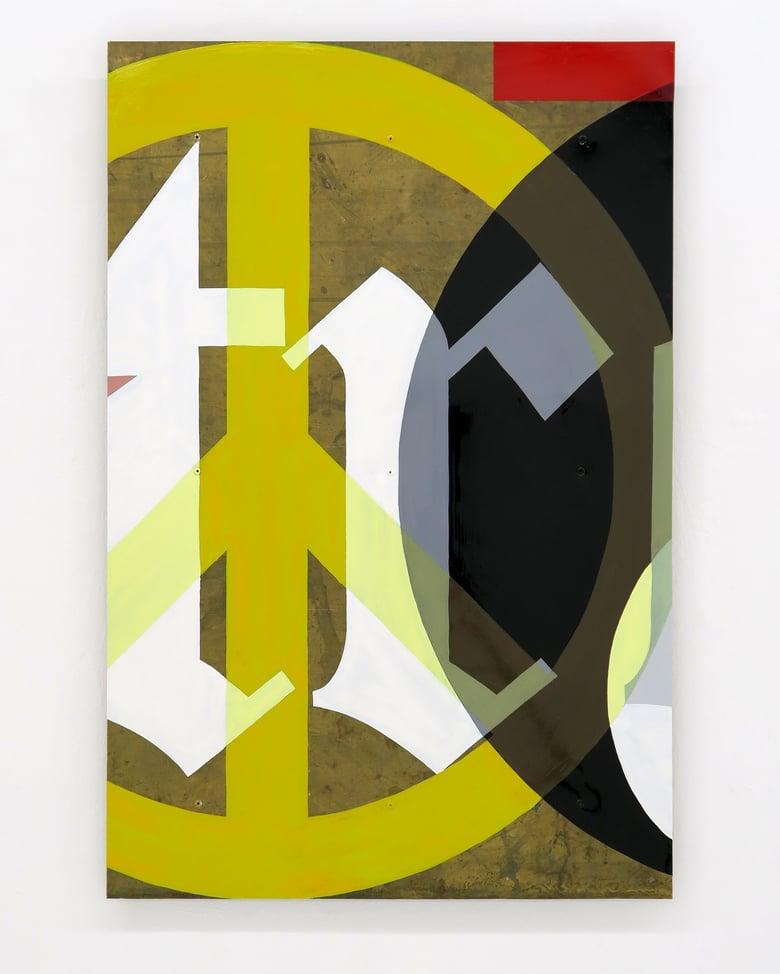 Image of Edward Woodley 'Decontrol - 5'. Original painting 2021