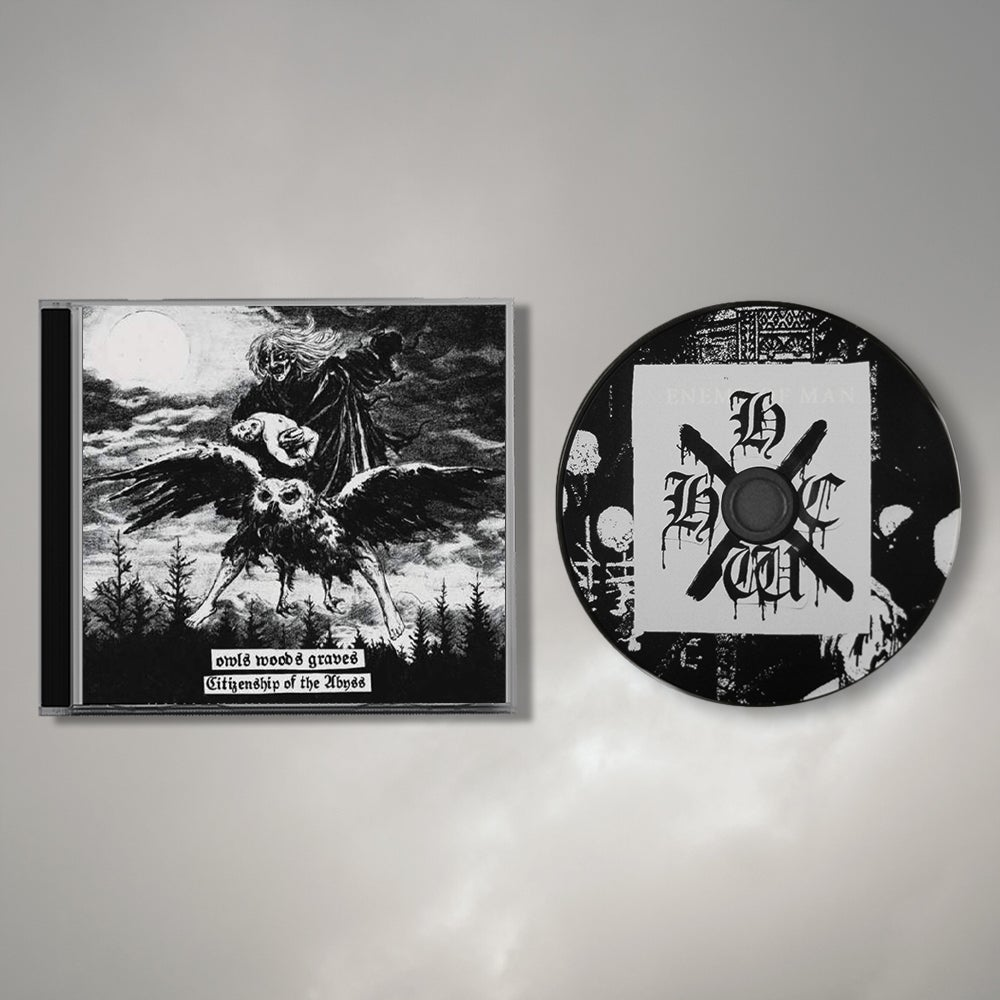 """Owls Woods Graves """"Citizenship of the Abyss"""" CD"""
