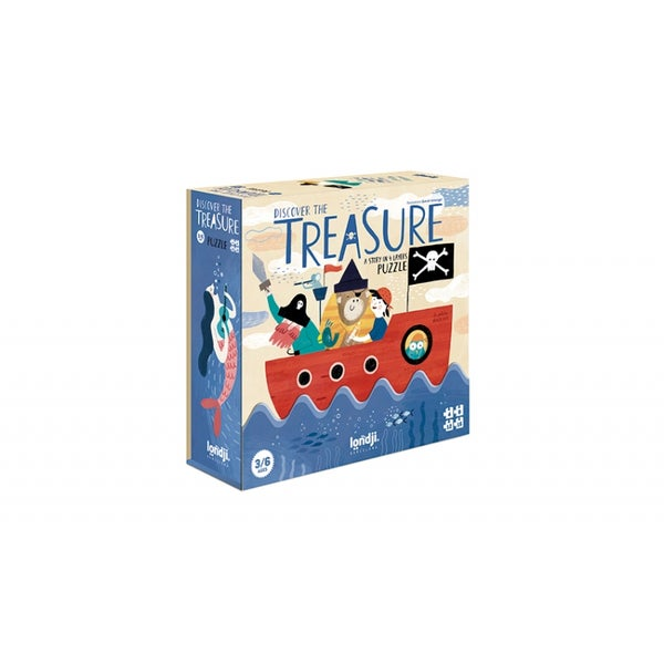 """Image of Puzzle """"Discover the Treasure"""""""