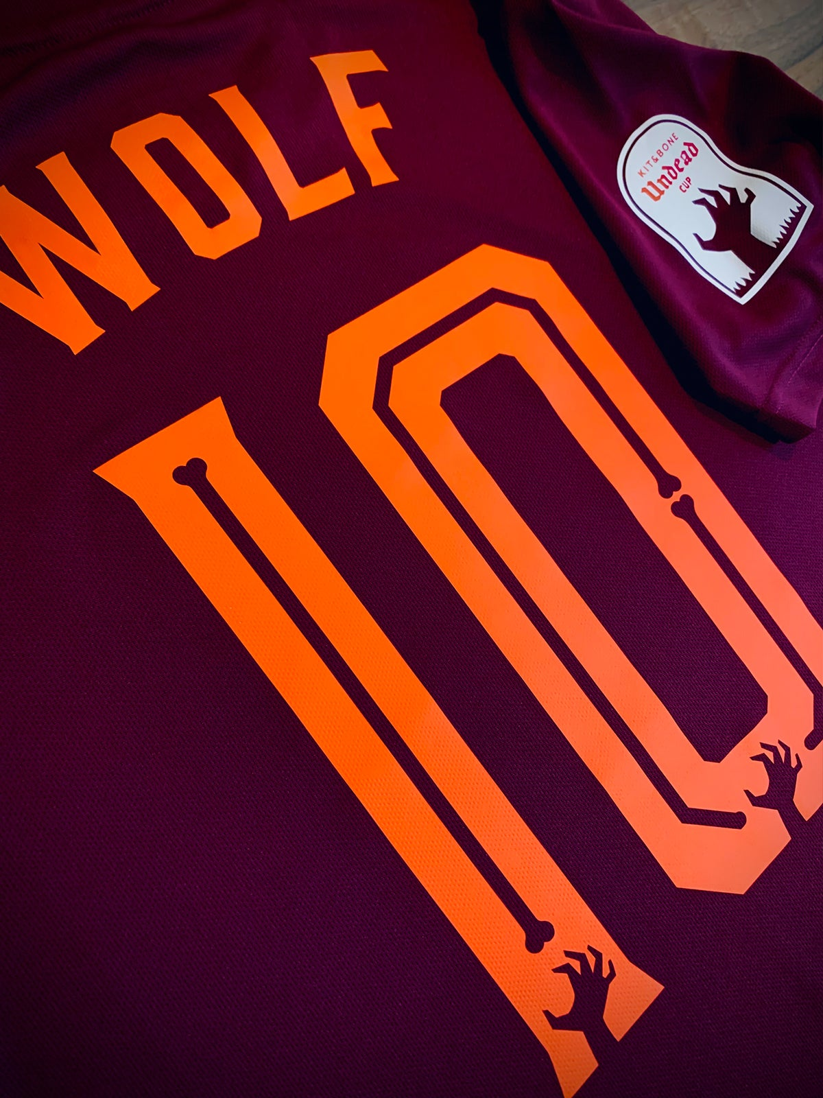 Image of Werewolves Undead Cup Jersey