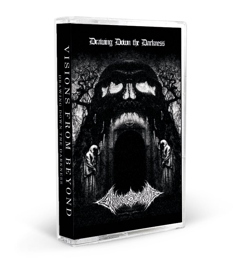 Image of Visions From Beyond - Drawing Down The Darkness Cassette (DC50) PRE-ORDER