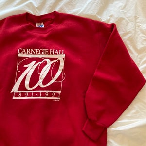 Image of Carnegie Hall 100 Years Sweater