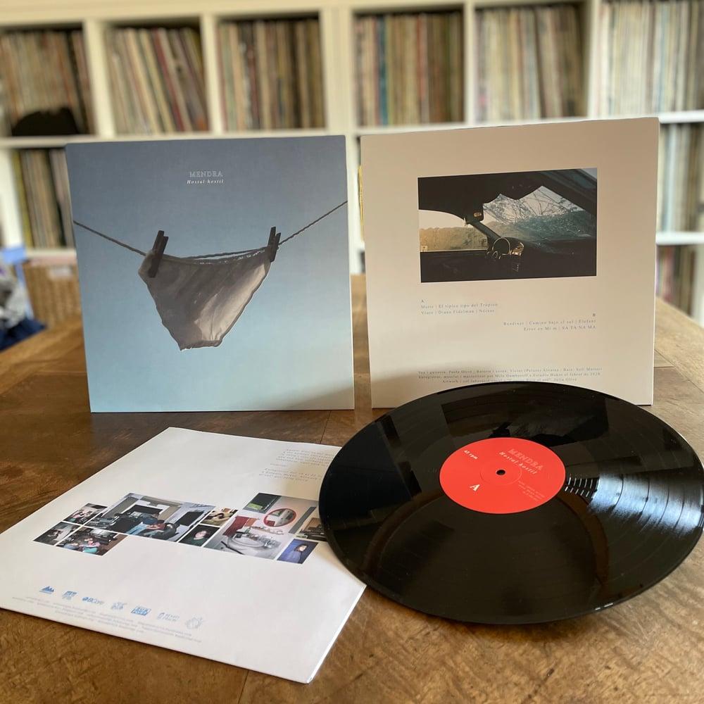 """Image of LADV158 - MENDRA """"hostal hostil"""" LP"""