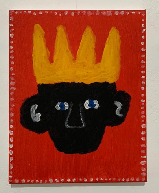 THE BOY KING WITHOUT A VOICE, Luke Brennan (2020)