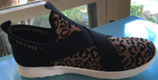 Image of Comfort Fit Shoe Chapmin Leopard Knitted