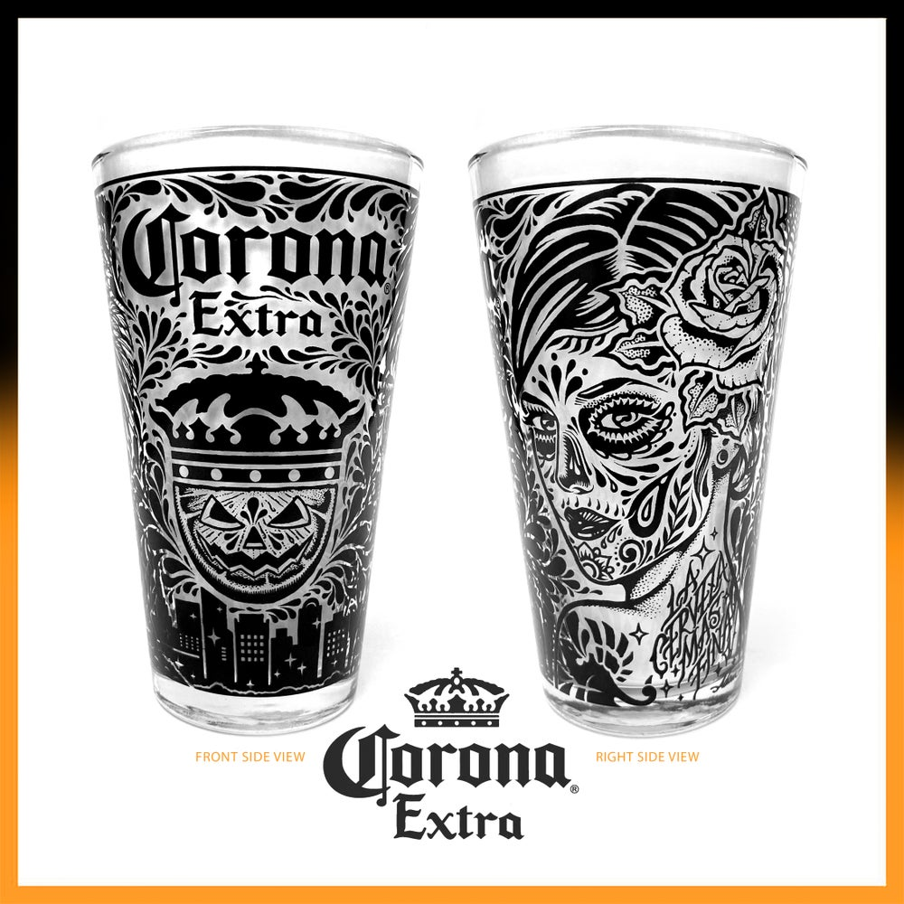 Image of CORONA EXTRA - LOS ANGELES / PINT GLASS  (Limited Edition)
