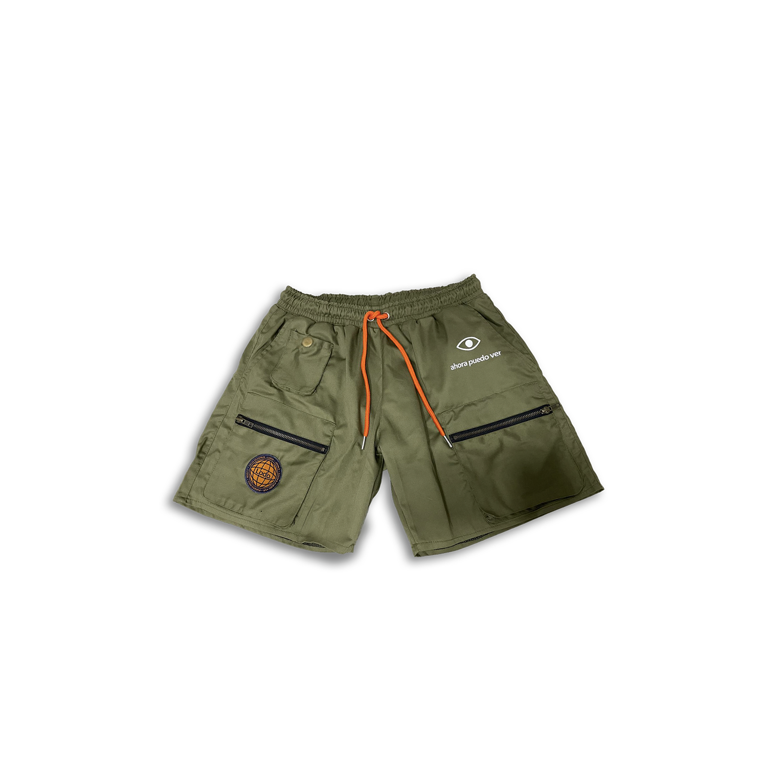 Image of Green Cargo Pants
