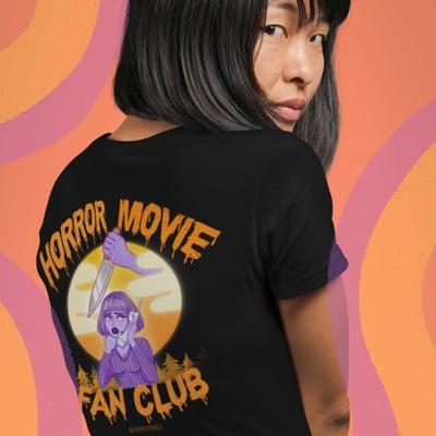 Image of HORROR MOVIE FAN CLUB TEE