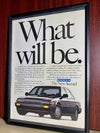 what will be the new Honda Accord  framed ad 8 1/4 x 11 3/4