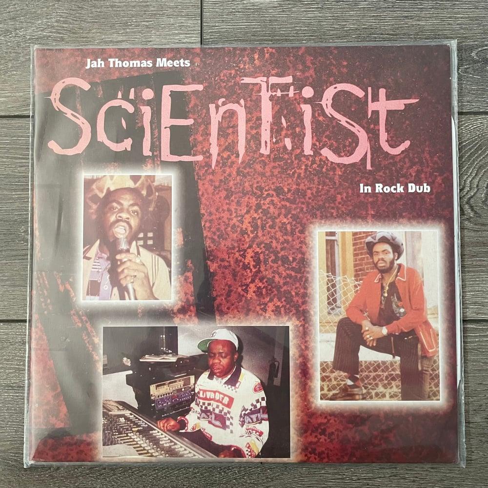 Image of Jah Thomas Meets Scientist - In Rock Dub Vinyl LP