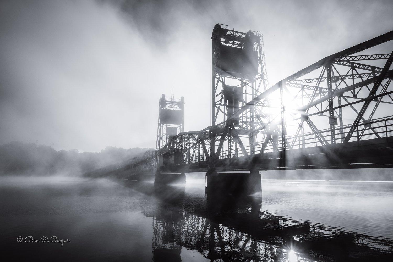 Foggy Morning in Stillwater (Horizontal)