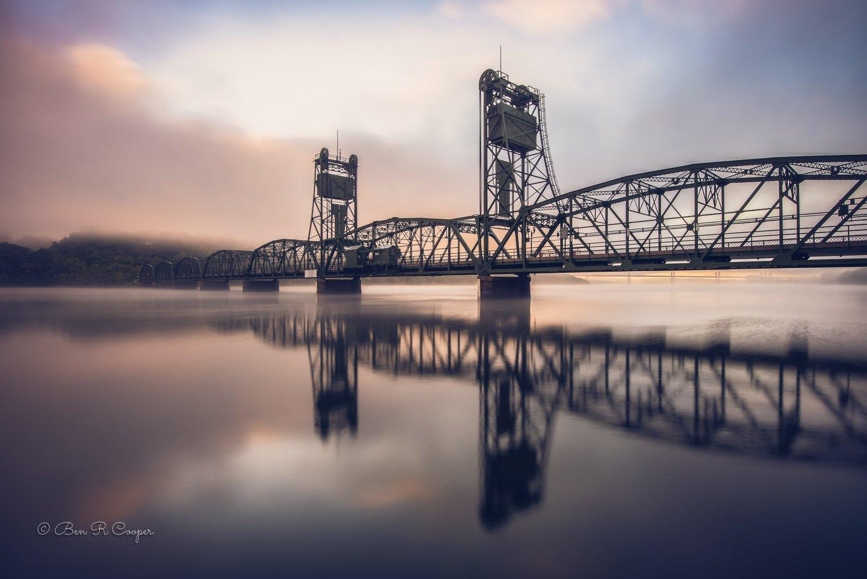 Stillwater Lift Bridge at Sunrise