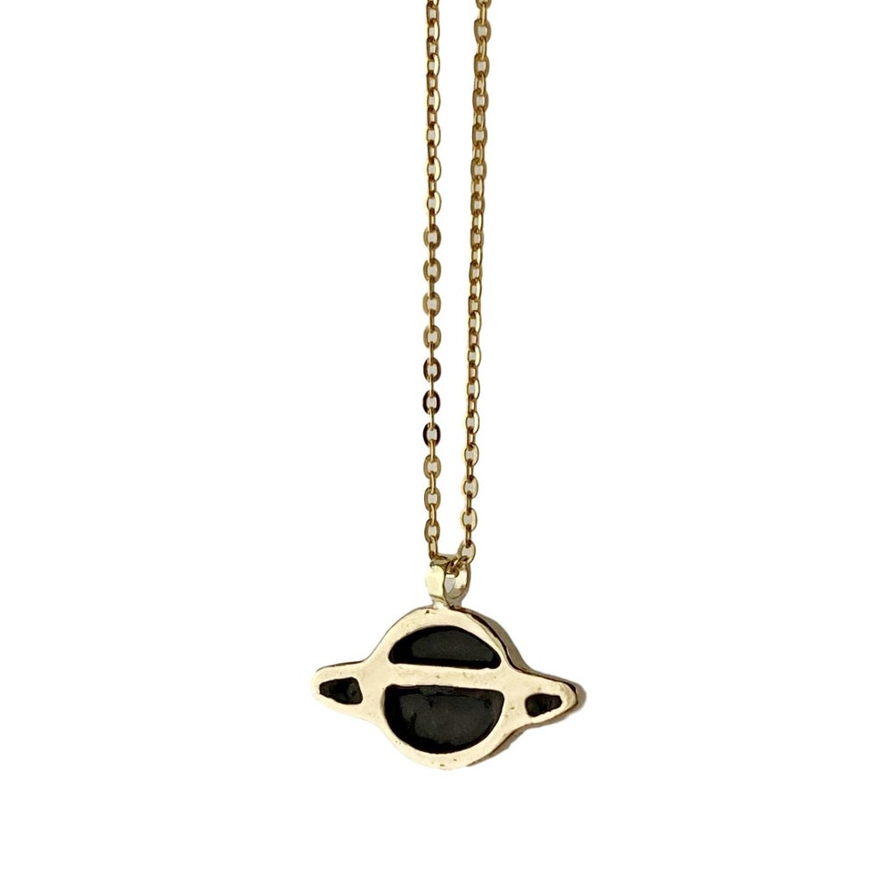 Image of Saturn Necklace