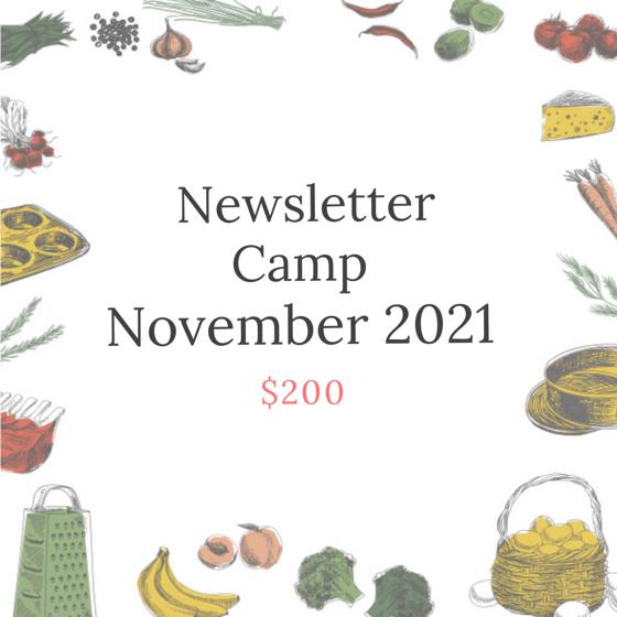 Image of November Newsletter Camp, 2021