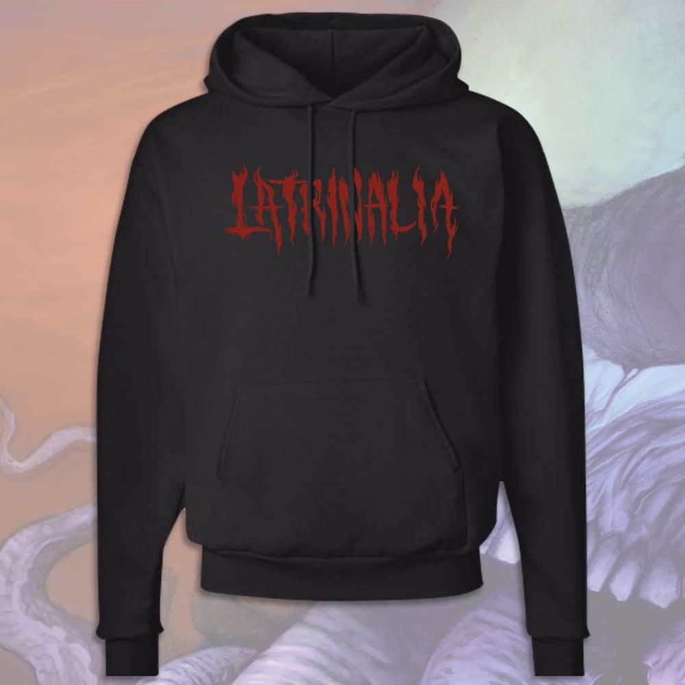 Image of Latrinalia Metal Hoodie