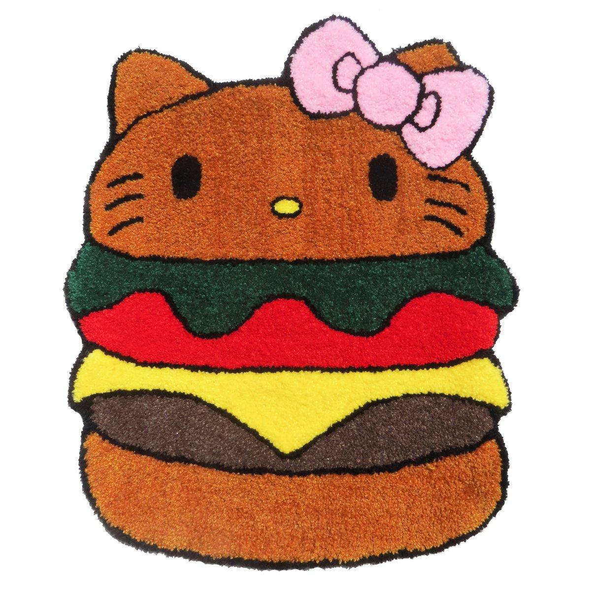 HELLO KITTY HAMBURGER RUG
