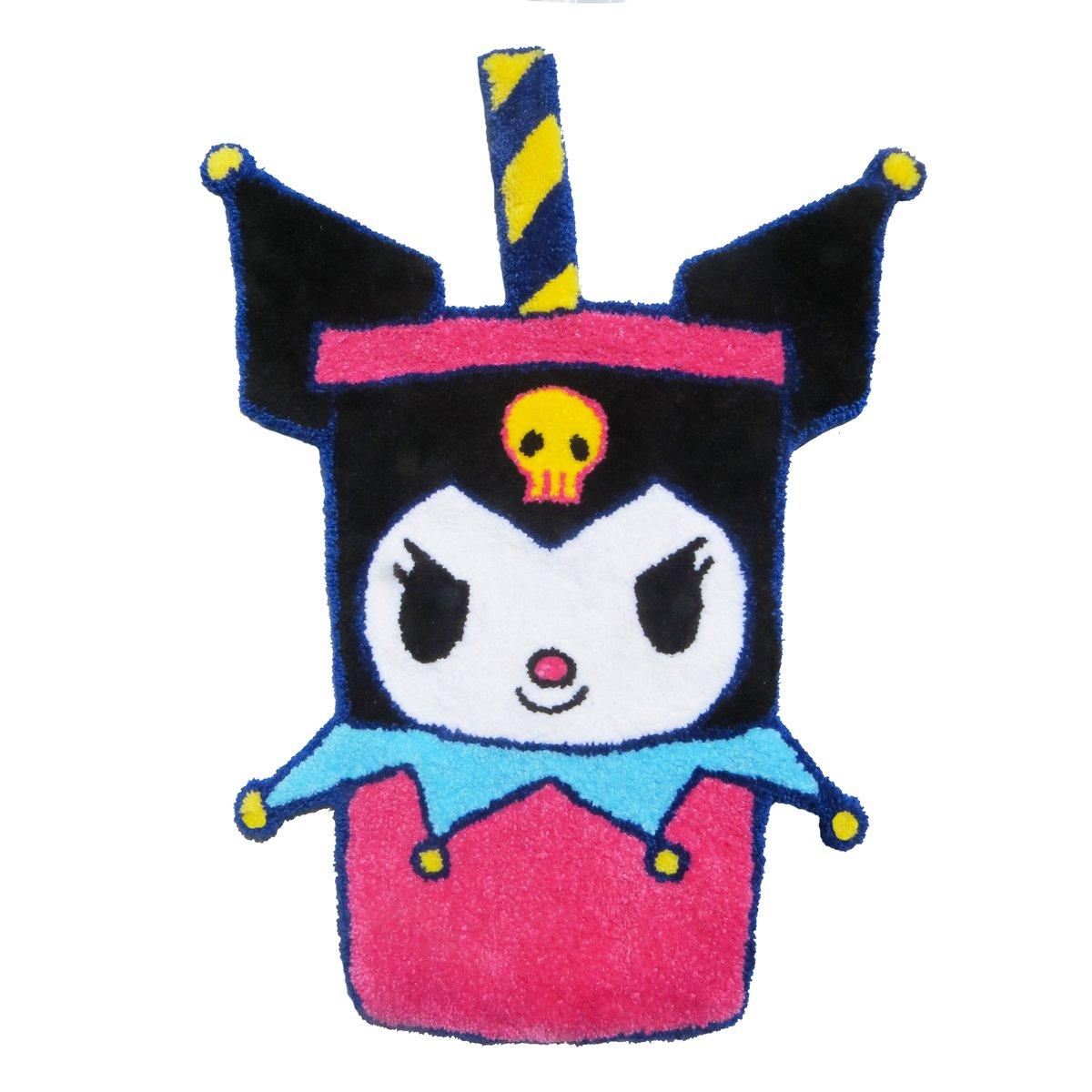 KUROMI COKE CUP RUG