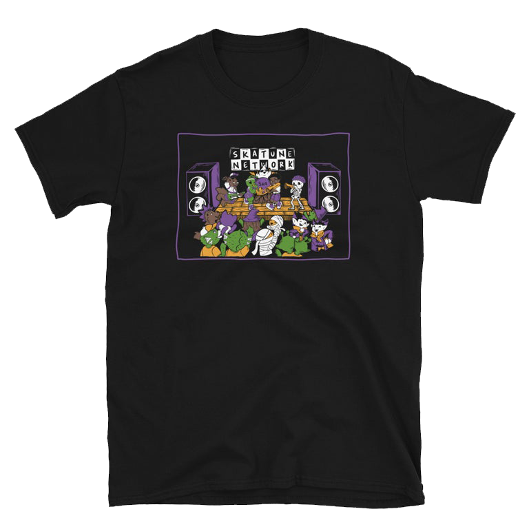 Image of SKALLOWEEN SHOW! | Black T-Shirts | XS - 5XL