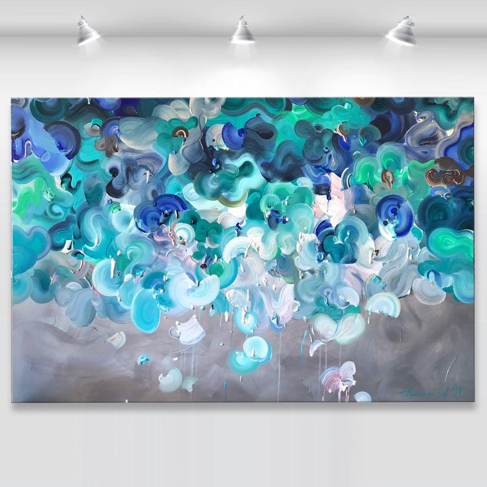 Image of Oceanum spiritus - 152x101cm