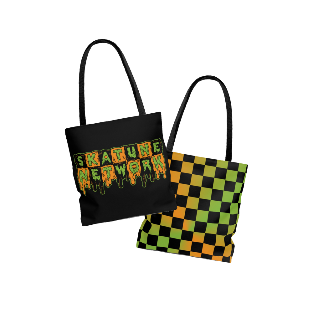 Image of SLIMETIME x JAHTUNE | Double Sided Tote Bag