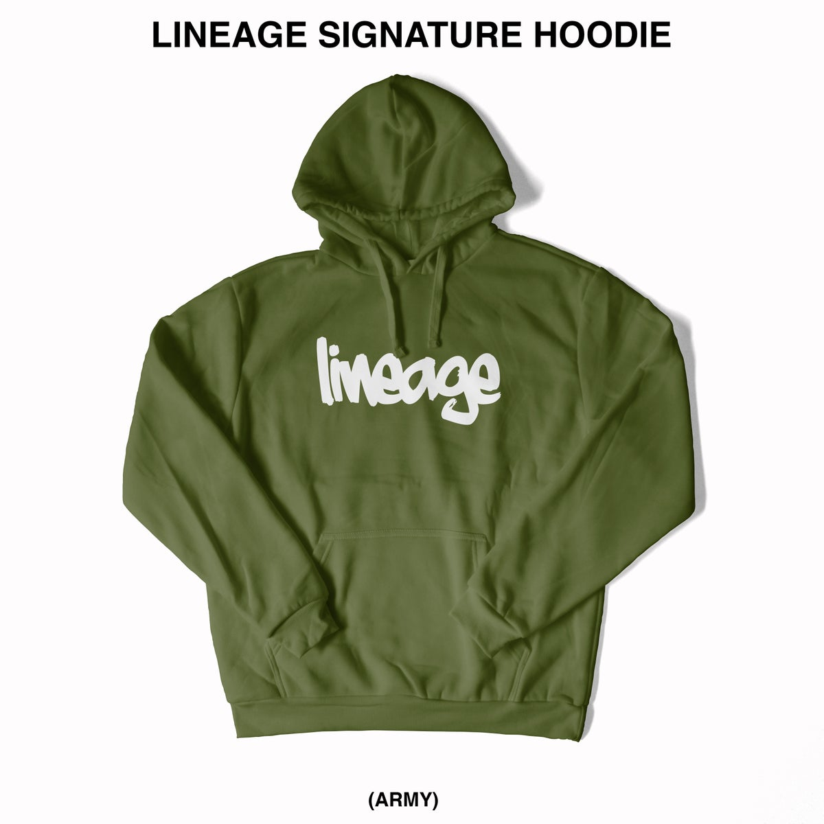Image of LINEAGE SIGNATURE MID WEIGHT HOODIE