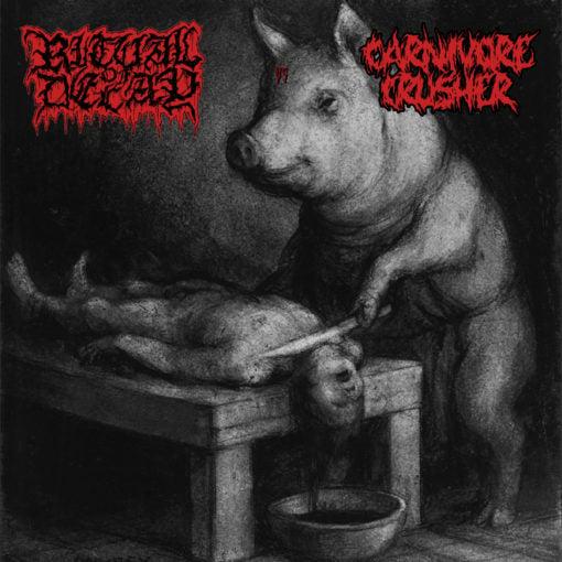 "Image of Ritual Of Decay & Carnivore Crusher ""Split"" 7″"
