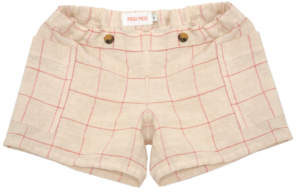 Image of SHORT PANT gingham