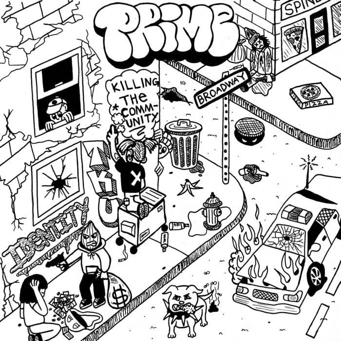 "Image of Prime ""Killing The Community"" Cassette"
