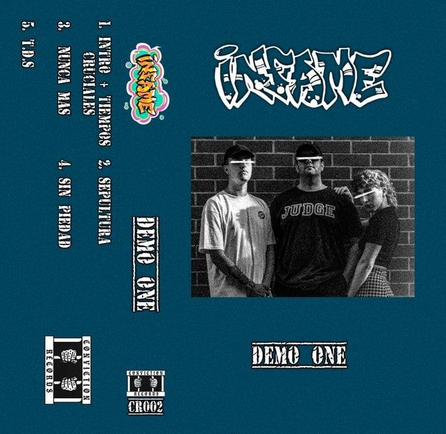 """Image of Infame """"Demo 2021"""" Cassette"""