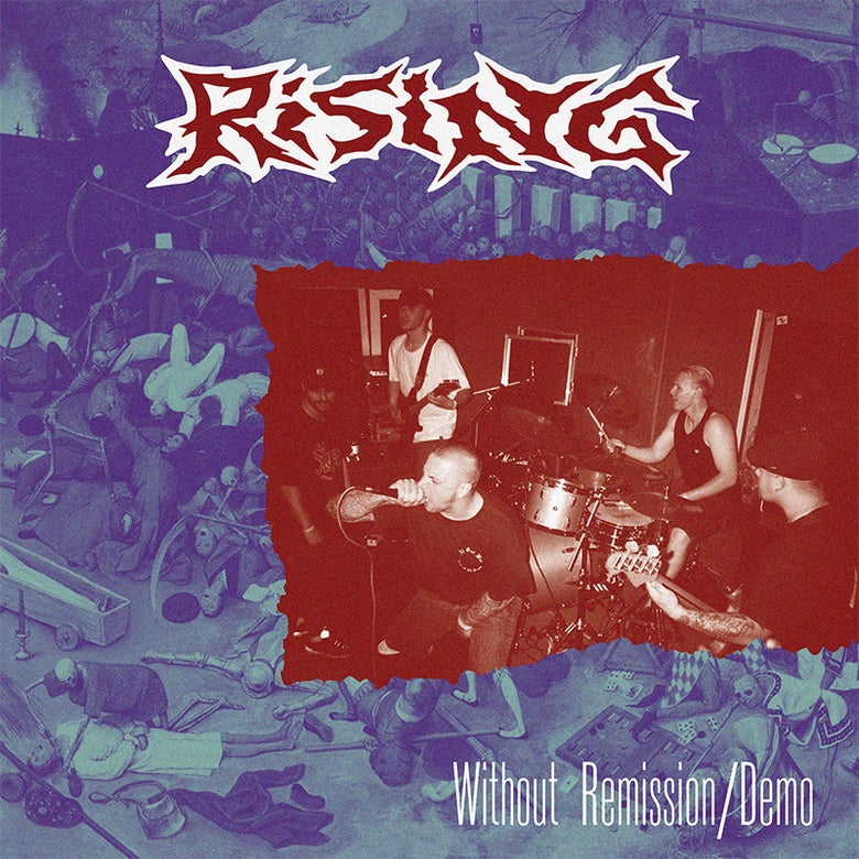 """Image of Rising """"Without Remission / Demo"""" LP"""