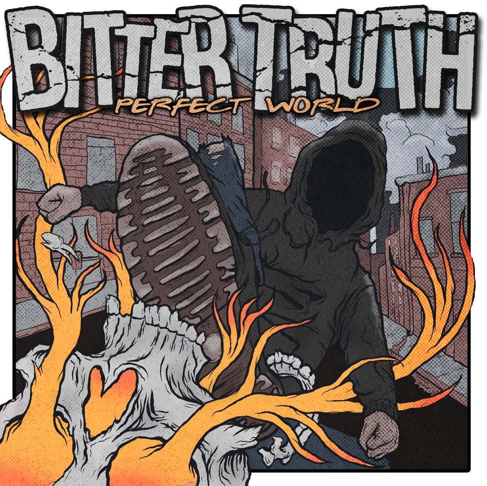 """Image of Bitter Truth """"Perfect World"""" LP"""