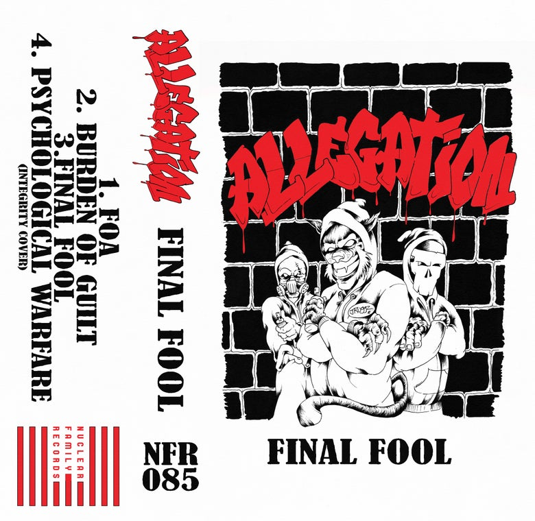 """Image of NFR087 - Allegation """"Final Fool"""" Cassette"""
