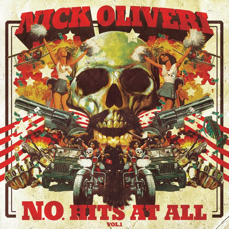 Image of NICK OLIVERI N.O. HITS AT ALL - VOL.1 LTD RED VINYL