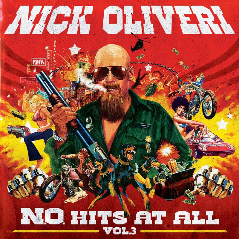 Image of NICK OLIVERI N.O. HITS AT ALL - VOL.3 LTD SPLATTER VINYL