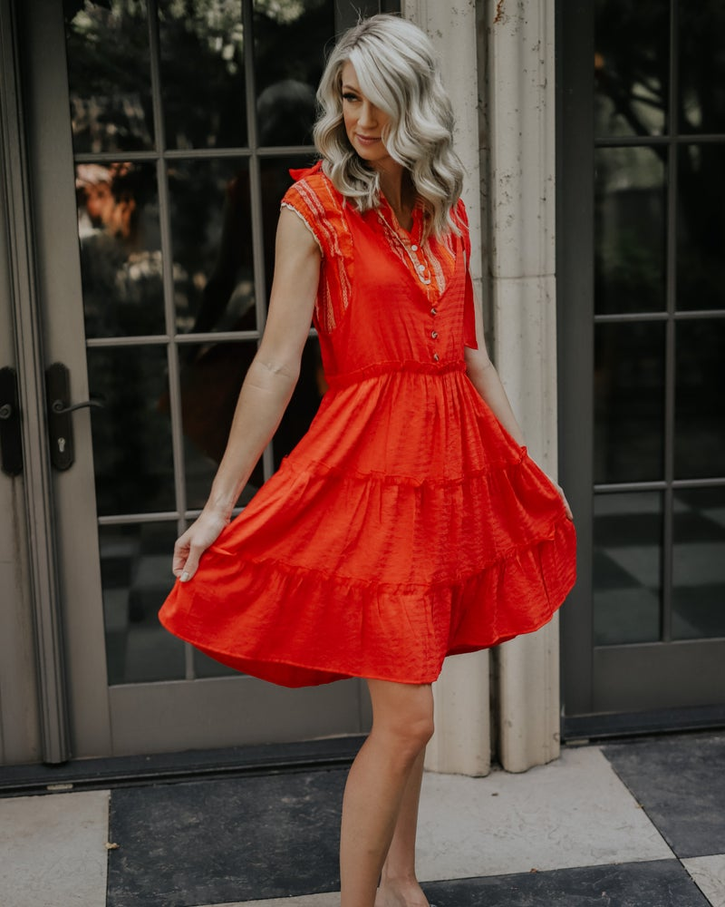 Image of BETH TIERED DRESS