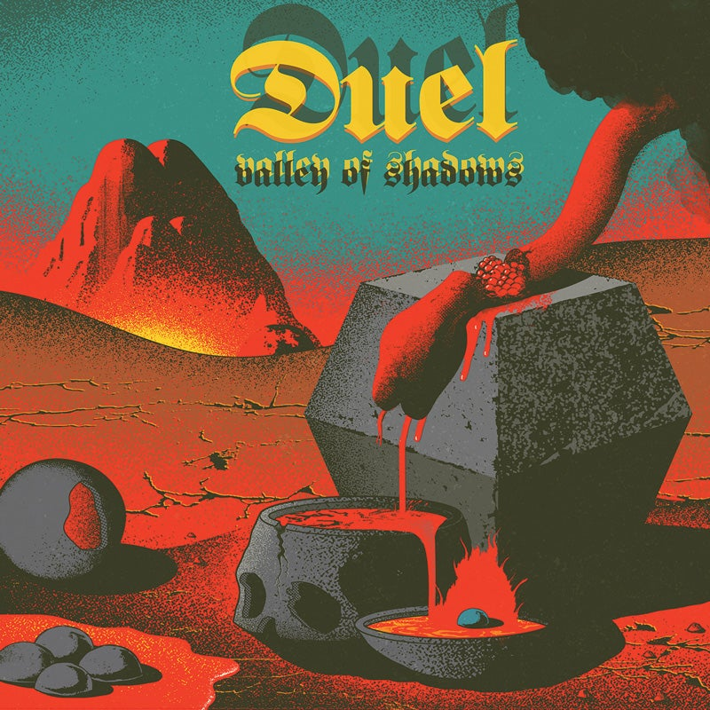 Image of DUEL - VALLEY OF SHADOWS LTD COLOURED VINYL