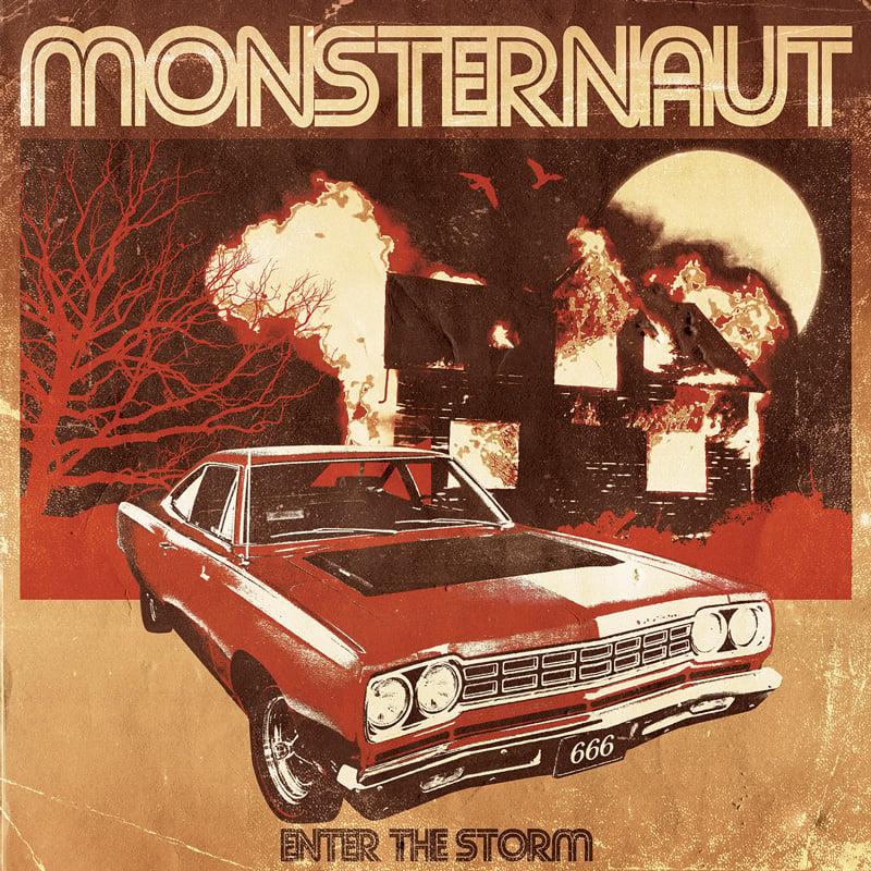 Image of MONSTERNAUT - ENTER THE STORM LTD YELLOW VINYL