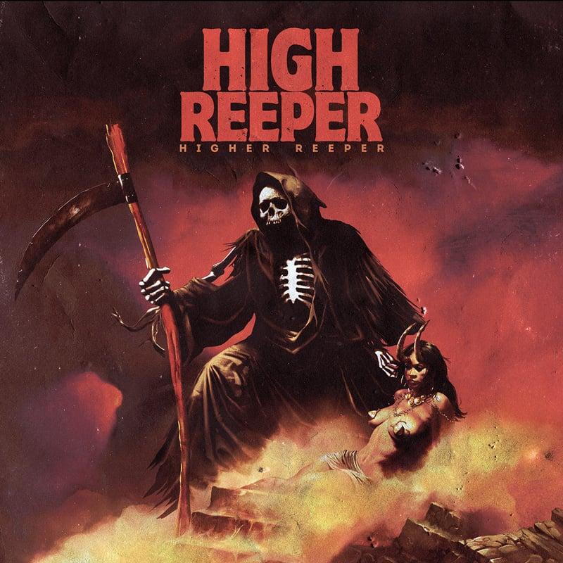 Image of HIGH REEPER - HIGHER REEPER LTD GATEFOLD MARBLED VINYL