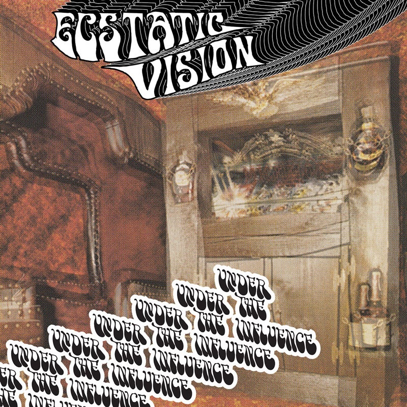 Image of ECSTATIC VISION - UNDER THE INFLUENCE LTD SPLATTER VINYL