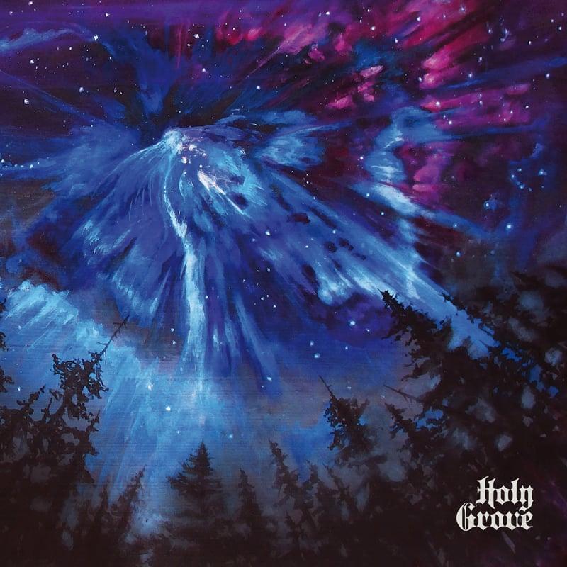 Image of HOLY GROVE -  SELFTITLED 250X ULTRA LTD BLUE SPLATTER VINYL