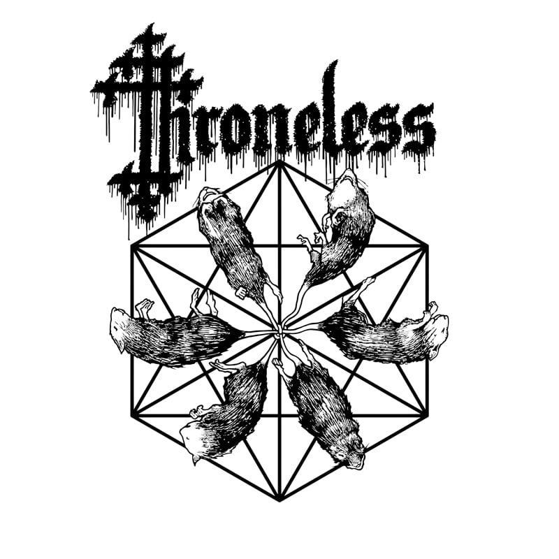 Image of THRONELESS - SELFTITLED   BLACK VINYL