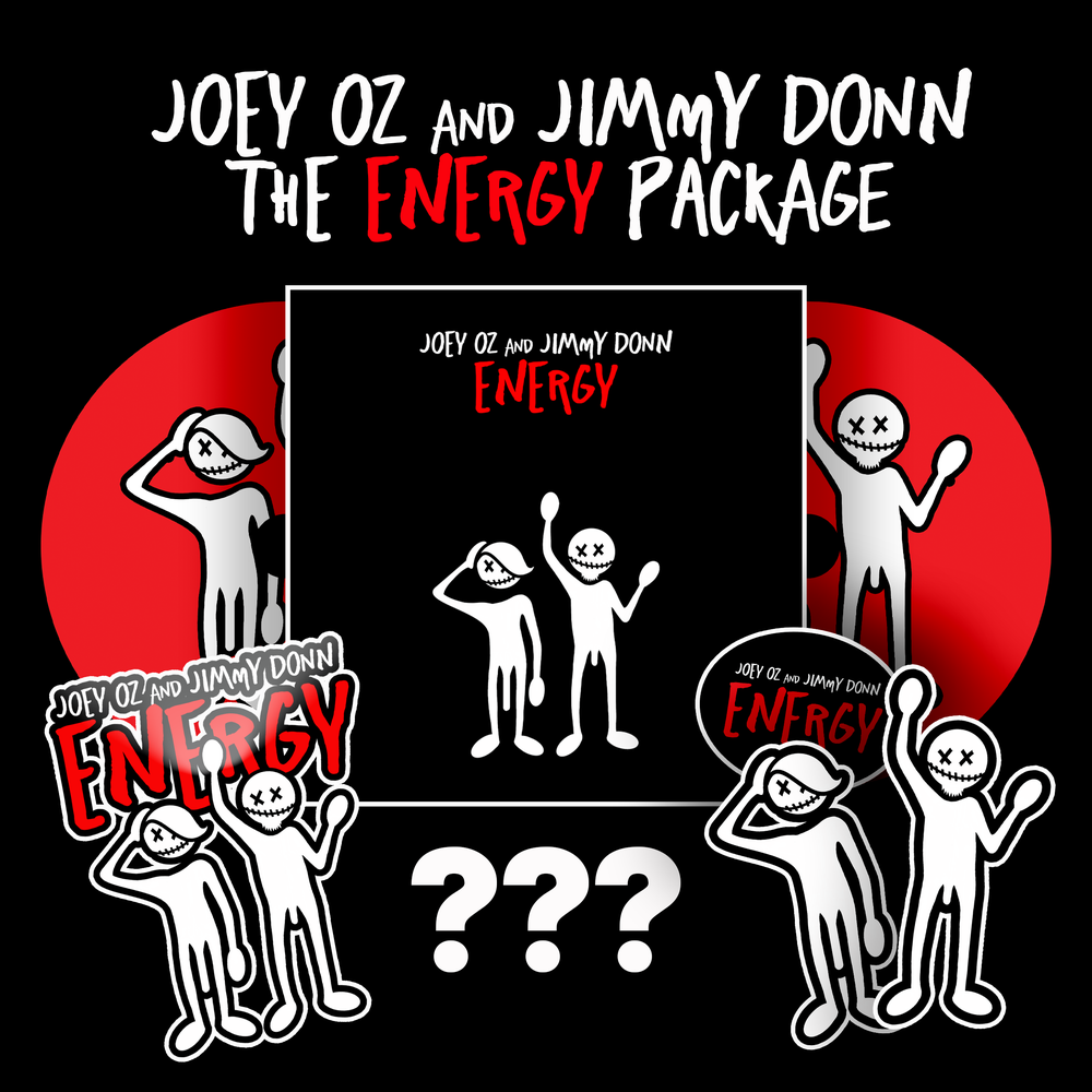 Image of Joey Oz & Jimmy Donn ENERGY 2 CD Package
