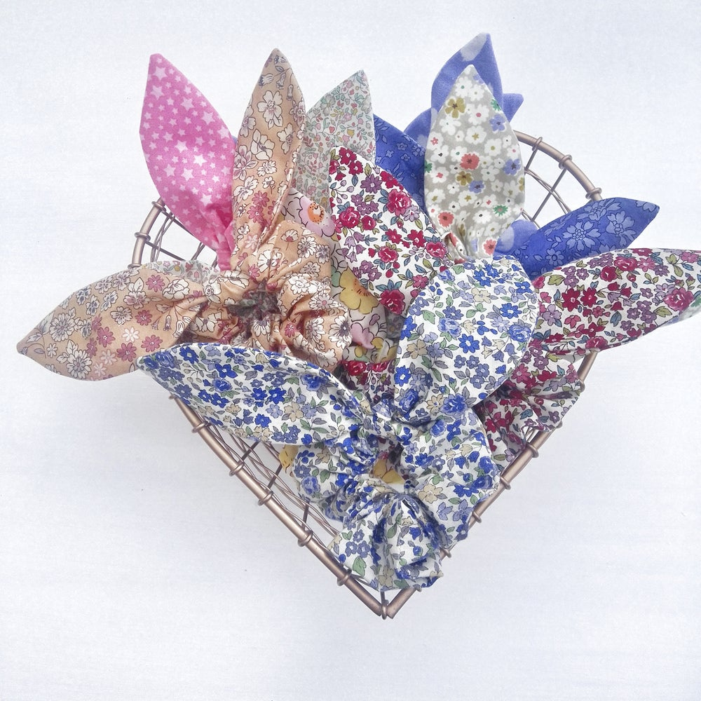 Image of  Lucky Dip Bow/Bunny Ear Scrunchies  (Sets of 2)