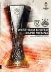 West Ham United v Rapid Vienna 30.09.21 *Including UK Postage £4.99