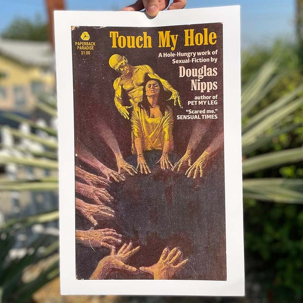 Image of Touch My Hole - 11 x 17 Print