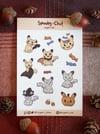 Spooky-Chu Sticker Sheet