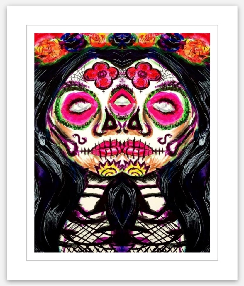 Image of Sugar Skull Woman