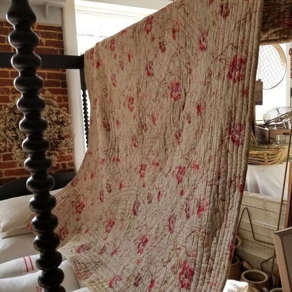 Image of Antique French quilt