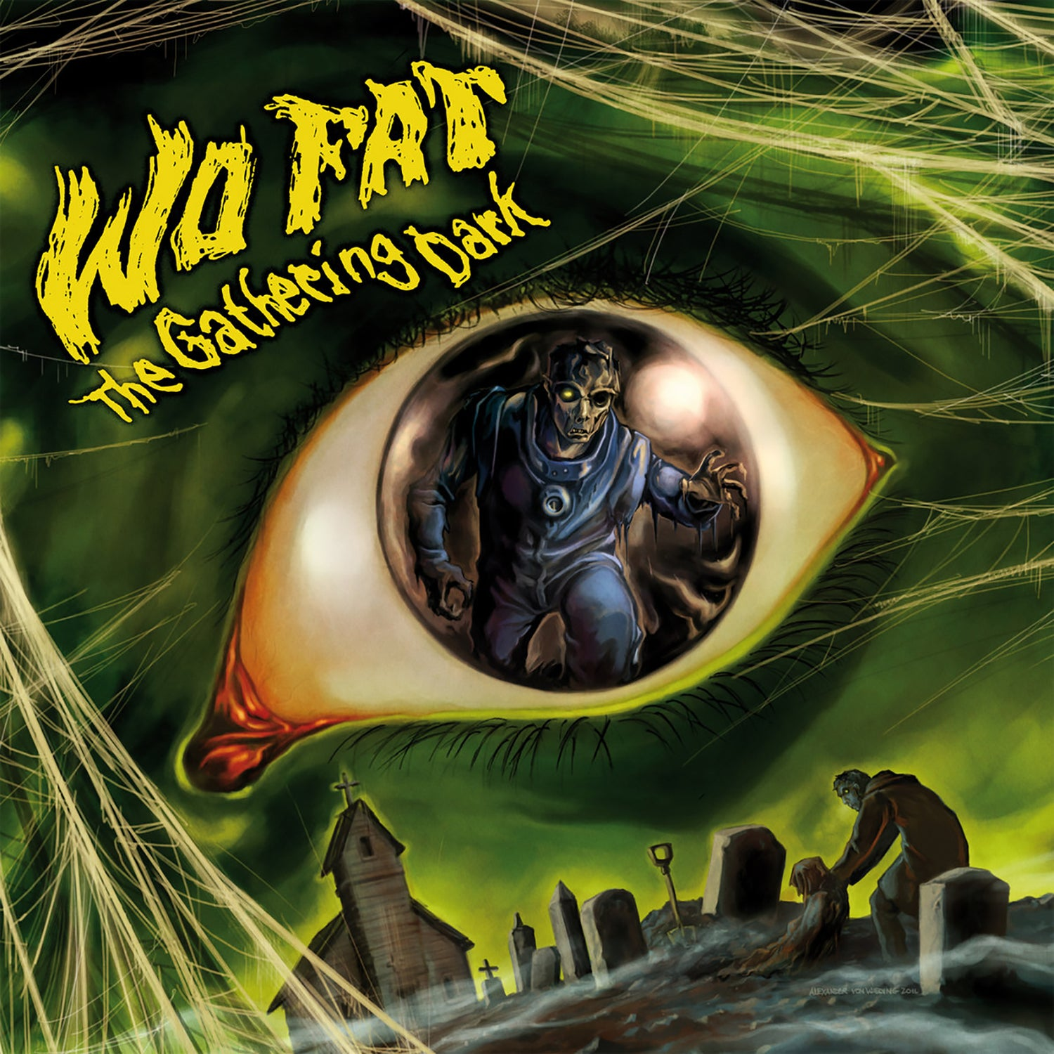 Image of Wo Fat - The Gathering Dark (Remastered) Deluxe Vinyl 2LP