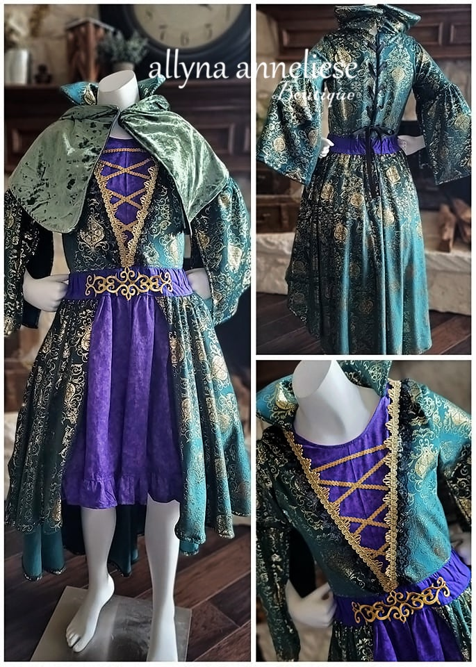 Image of Inspired Winifred Sanderson Sister - Costume Style